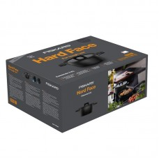 Кастрюля Fiskars Hard Face, Ø 22 см, 3,5 л, черная (1052227)